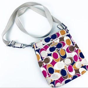 Coach Nylon Messenger Crossbody Bag